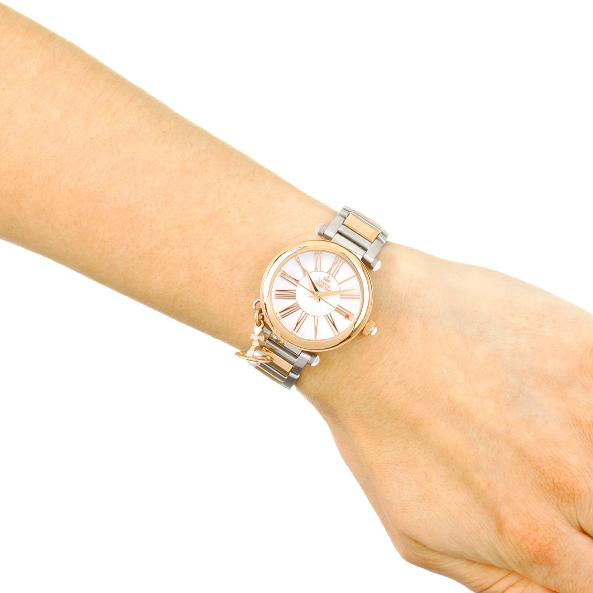 Vivienne Westwood Mother Orb | Orologio da Donna Bicolore VV006PRSSL | IT | Watch Shop™