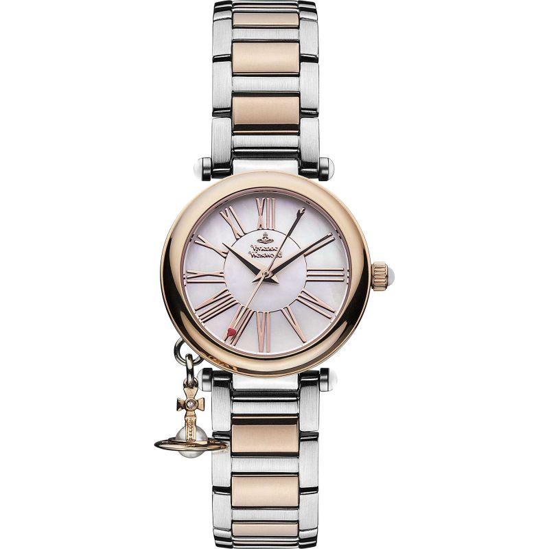 Damen Vivienne Westwood Mother Orb Watch VV006PRSSL
