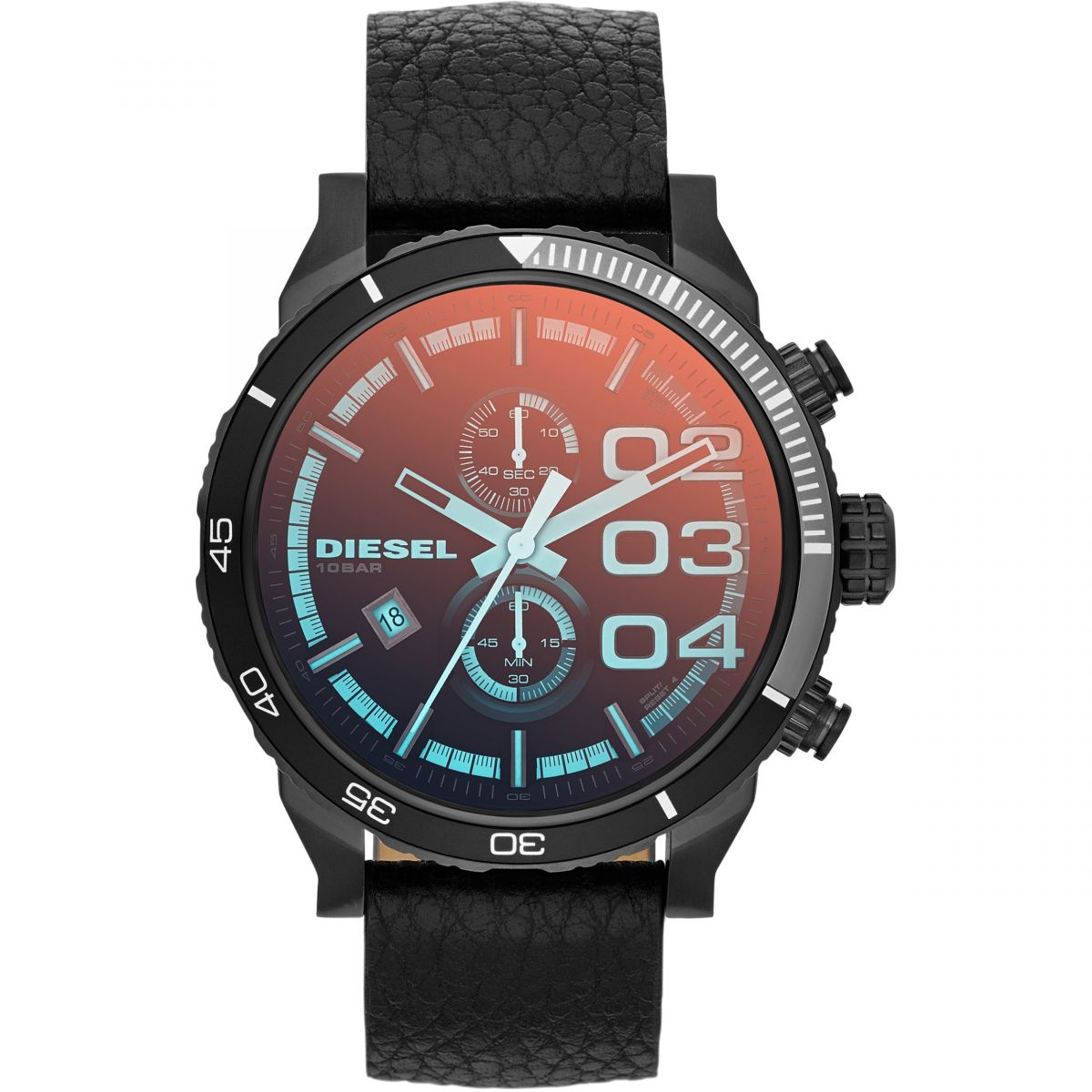 Mens Diesel Double Down 2.0 Chronograph Watch DZ4311