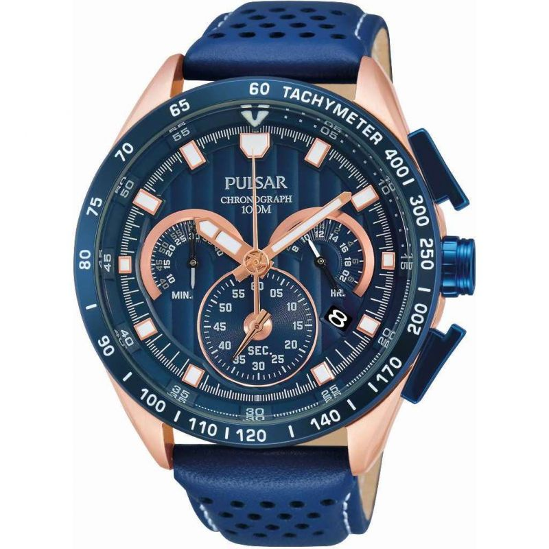 Mens Pulsar Sport Chronograph Watch