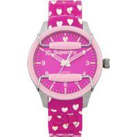 Damen Superdry Scuba Heart Watch SYL137P
