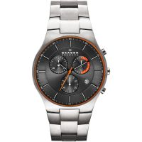 Mens Skagen Balder Titanium Chronograph Watch