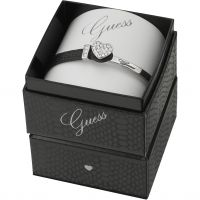 Ladies Guess Rhodium Plated Color Chic Bracelet Box Set