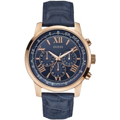 Montre Chronographe Homme Guess Horizon W0380G5
