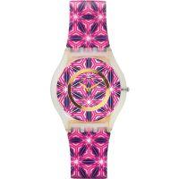 Unisex Swatch schmal Vetrata Uhr