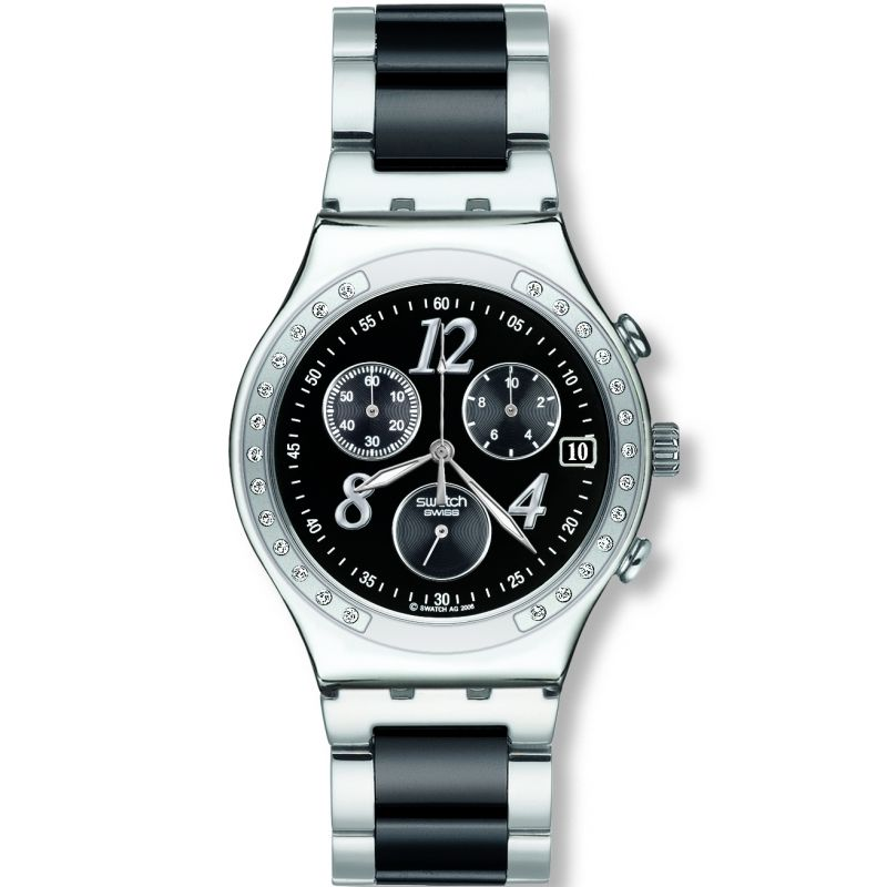 Ladies Swatch Dreamnight Chronograph Watch