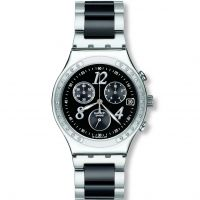 Damen Swatch Dreamnight Chronograf Uhr