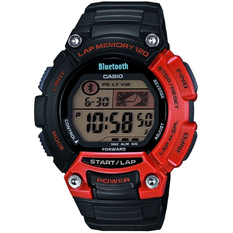 Mens Casio Bluetooth Sports Alarm Chronograph Watch STB-1000-4EF