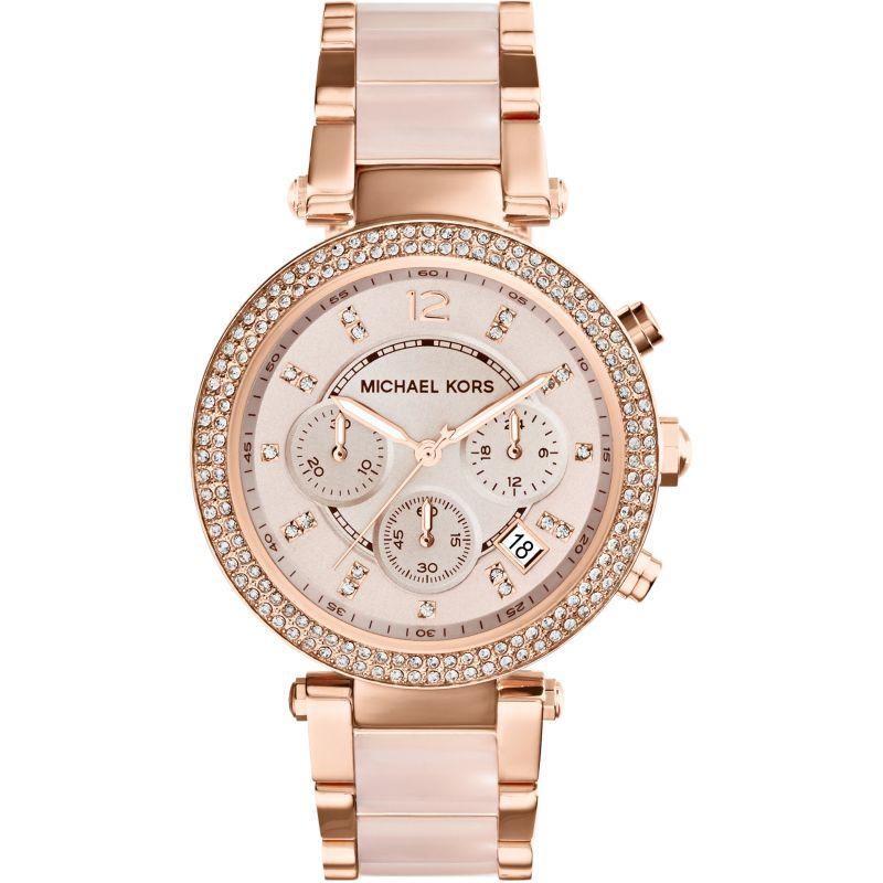 Damen Michael Kors Parker Chronograph Watch MK5896