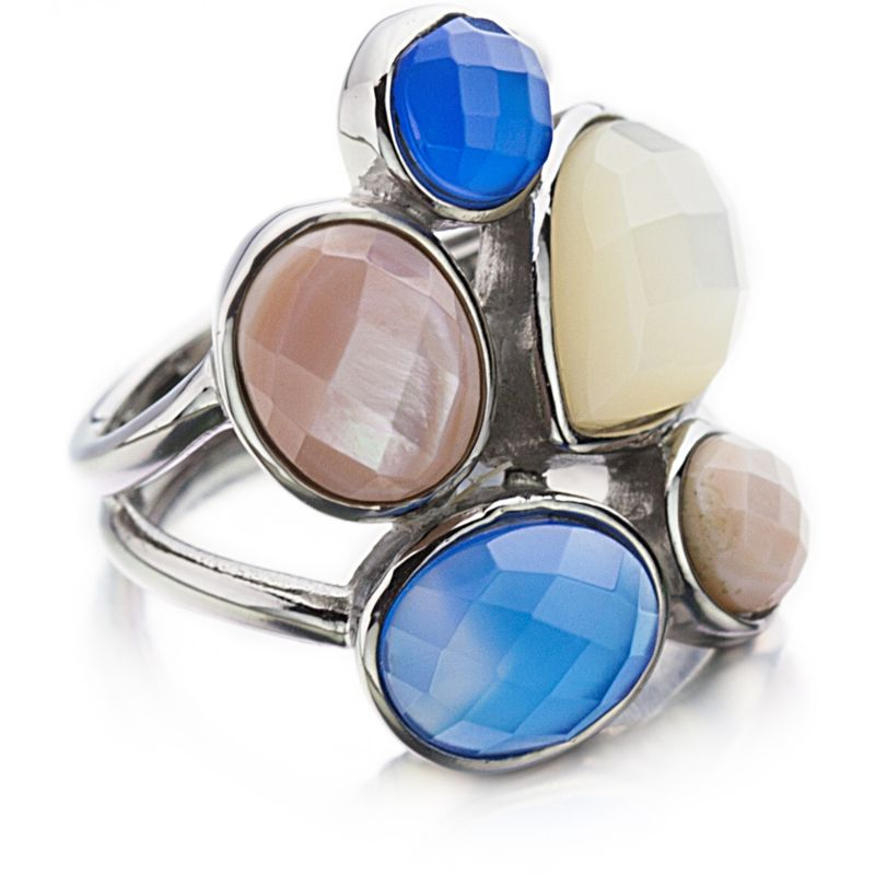 Ladies Shimla Stainless Steel Size Q Ring SH210ML
