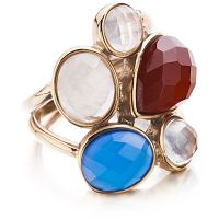 Ladies Shimla PVD rose plating Size P Ring SH211ML