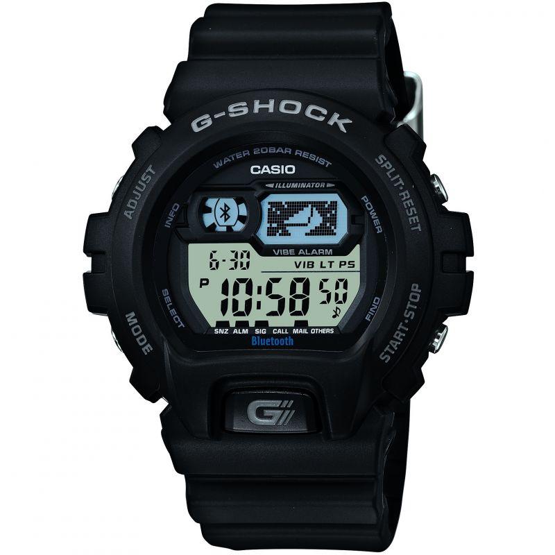 Mens Casio G-Shock Bluetooth Hybrid Smartwatch Alarm Chronograph Watch