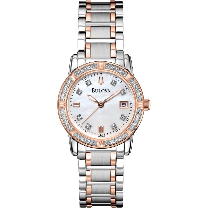 Ladies Bulova Diamond Gallery Highbridge Diamond Watch