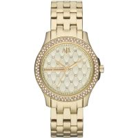 Armani Exchange Dameshorloge Goud AX5216