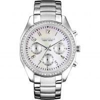 femme Caravelle New York Melissa Chronograph Watch 43L159