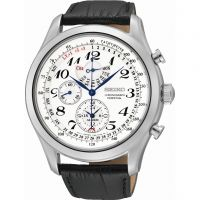 Herren Seiko Alarm Chronograph Watch SPC131P1