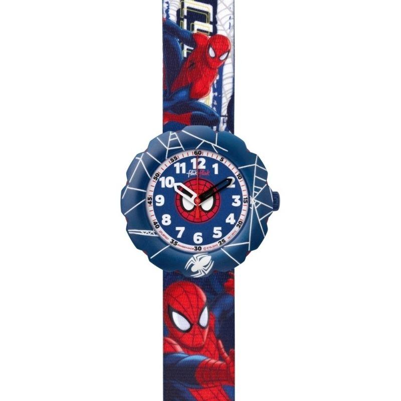 Kinder Flik Flak Spider-Cycle Watch FLSP001