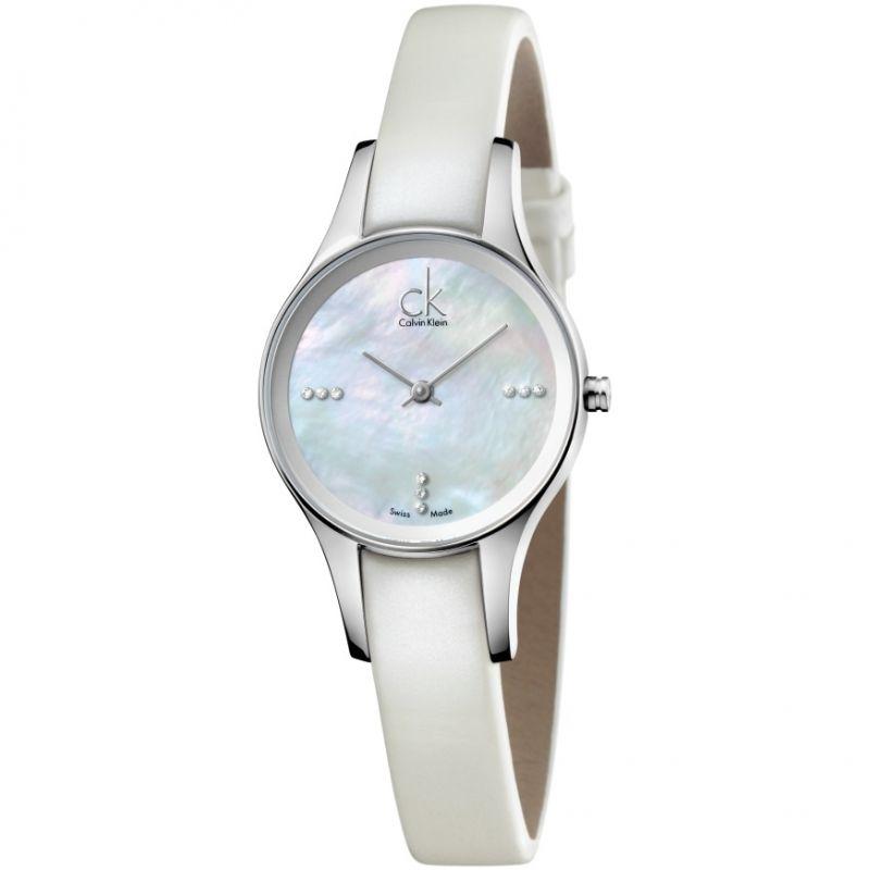 Damen Calvin Klein Simplicity Diamond Watch K43231LT
