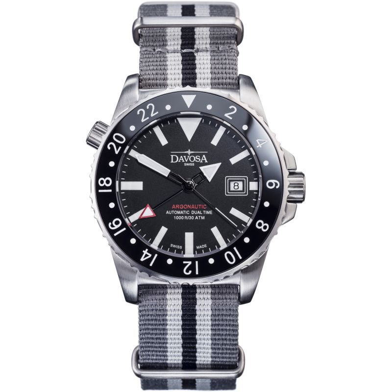 Mens Davosa Argonautic Dual Time Automatic Watch