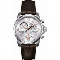 Certina DS Podium GMT Herrkronograf Brun C0016391603701