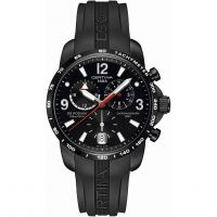 Certina DS Podium GMT Herrkronograf Svart C0016391705700