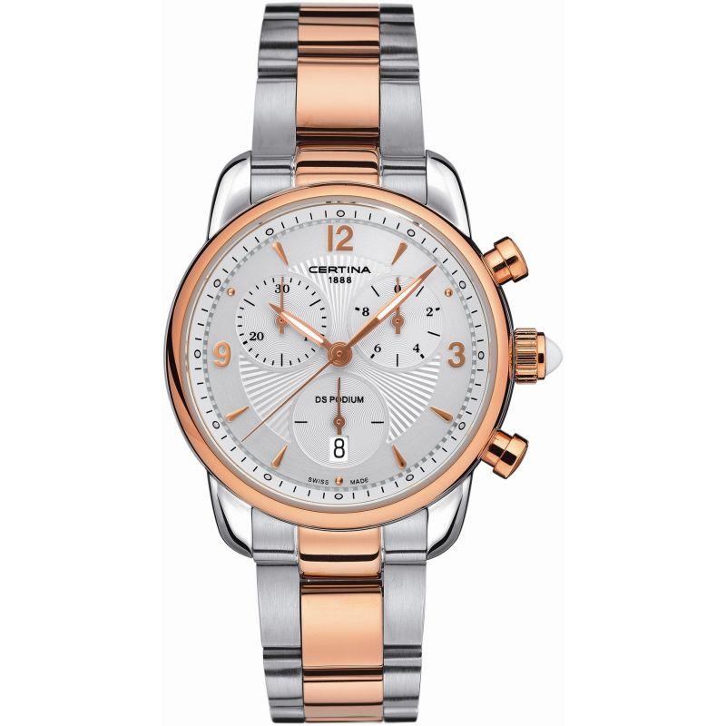 Damen Certina DS Podium Chronograph Watch C0252172201700