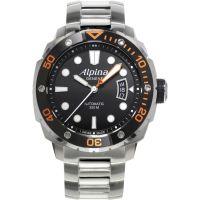 homme Alpina Seastrong Diver Watch AL-525LBO4V26B