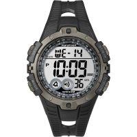Herren Timex Indiglo Marathon Alarm Chronograph Watch T5K802