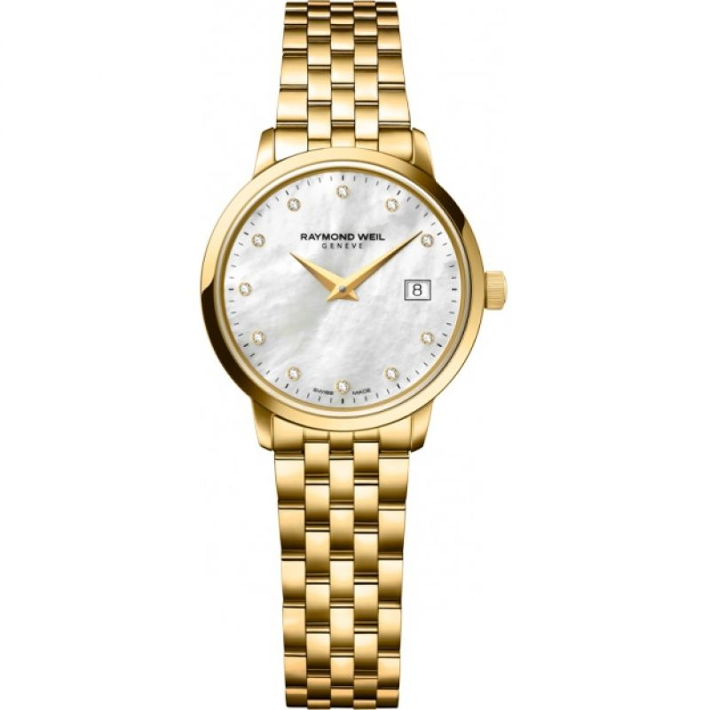 Ladies Raymond Weil Toccata Diamond Watch
