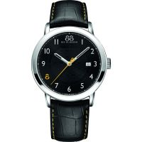 88 Rue Du Rhone Double 8 Origin 42mm Herenhorloge Zwart 87WA140020