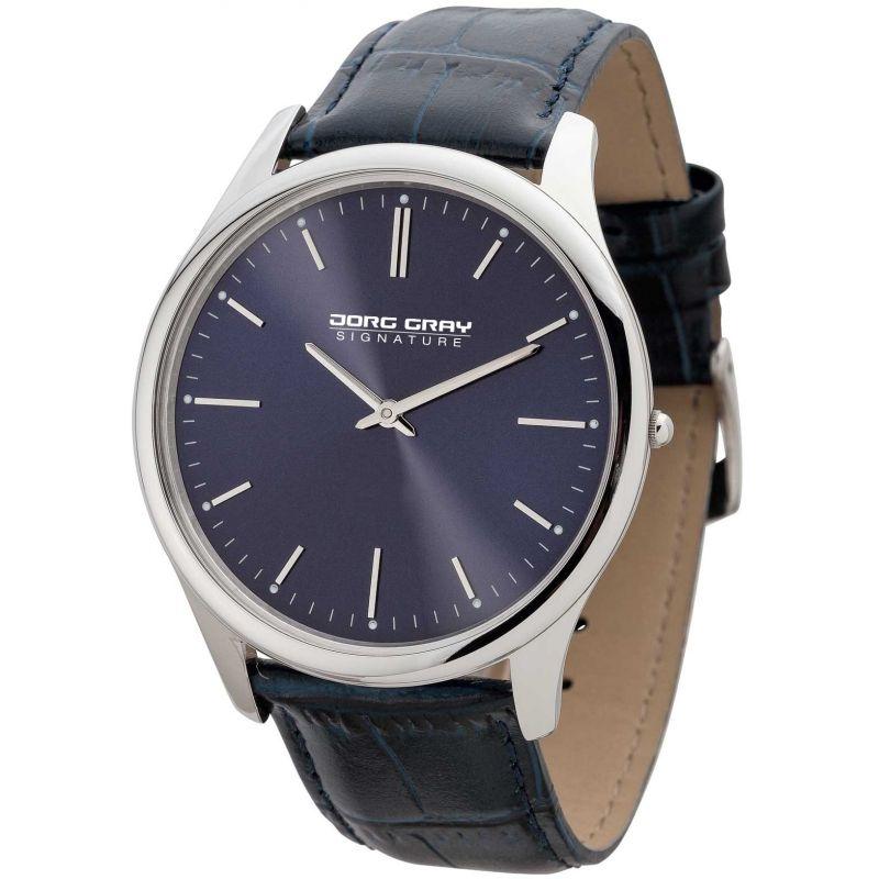 Mens Jorg Gray Signature Watch