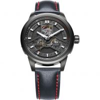 Mens FIYTA Extreme Roadster Skeleton Automatic Watch WGA1008.BBB