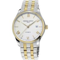 Frederique Constant Index Slim Herenhorloge Tweetonig FC-303WN5B3B