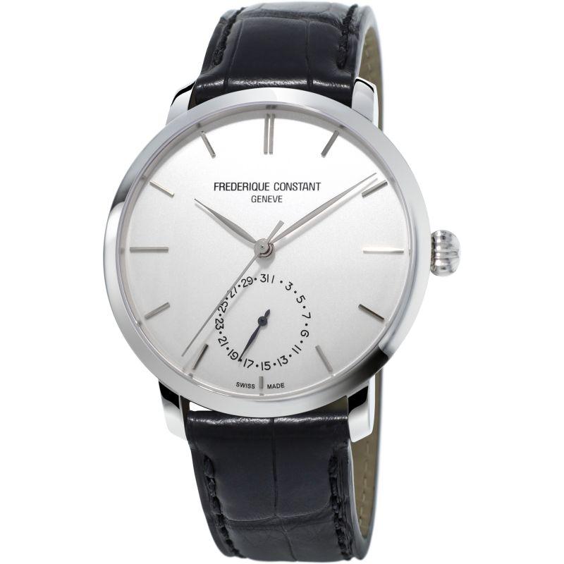 Mens Frederique Constant Slim Line Manufacture Automatic Watch
