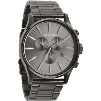 Nixon The Sentry Chrono Herenchronograaf Grijs A386-632