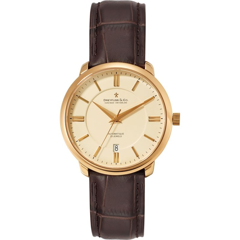 Mens Dreyfuss Co Automatic Watch