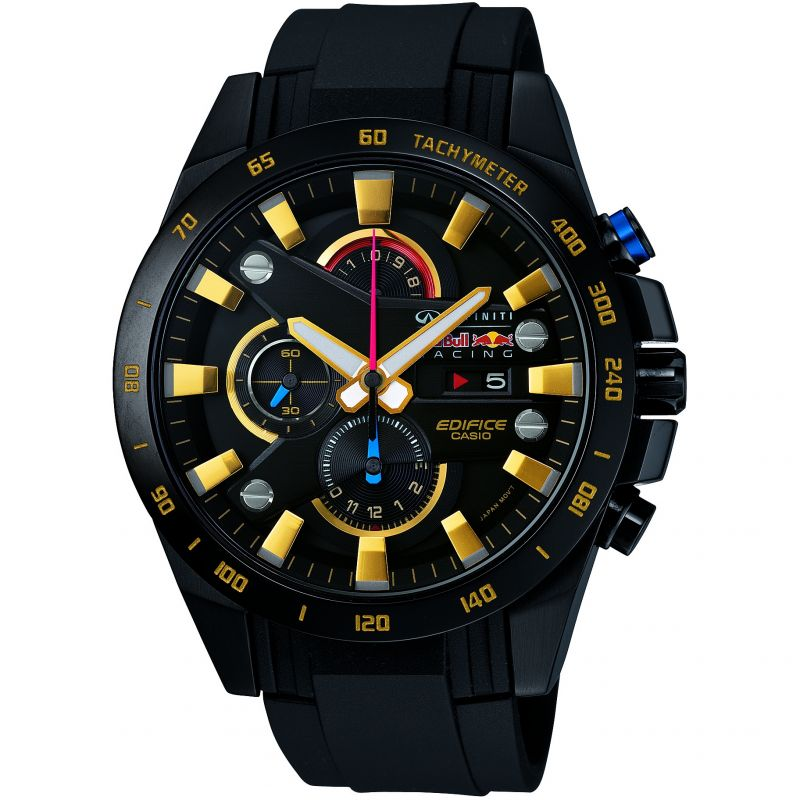 Mens Casio Edifice Infiniti Red Bull Racing Chronograph Watch EFR-540RBP-1AER