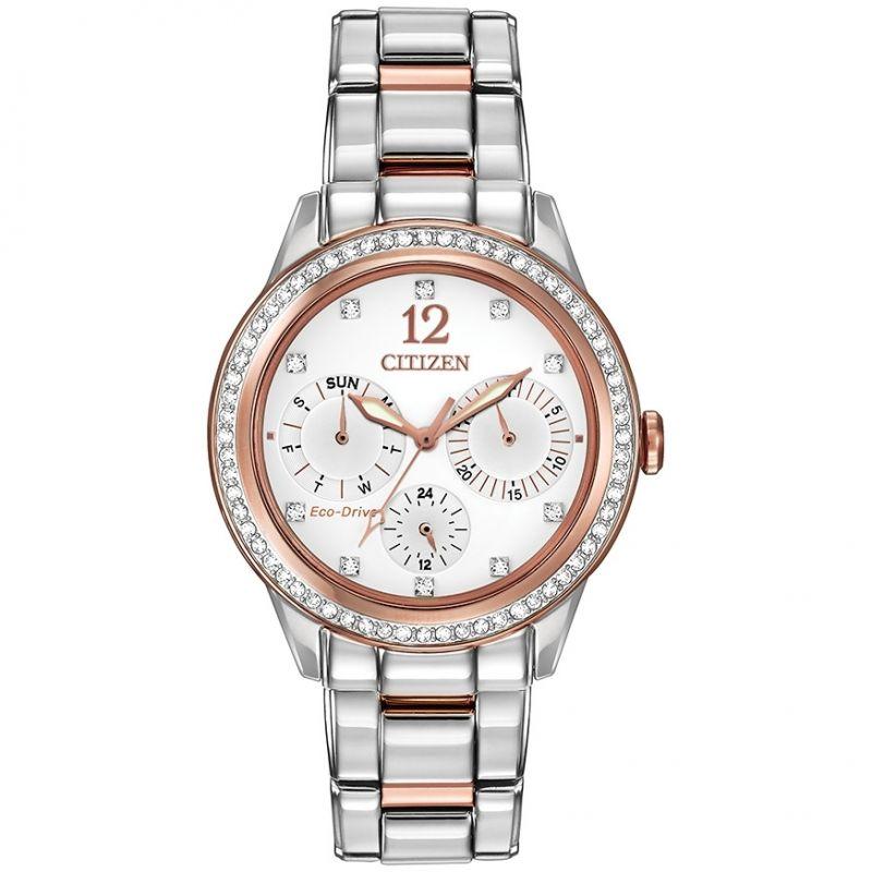 femme Citizen Silhouette Crystal Watch FD2016-51A