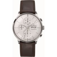 homme Junghans Meister Chronoscope Chronograph Watch 027/4120.00