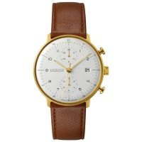 homme Junghans Max Bill Chronoscope Chronograph Watch 027/7800.00