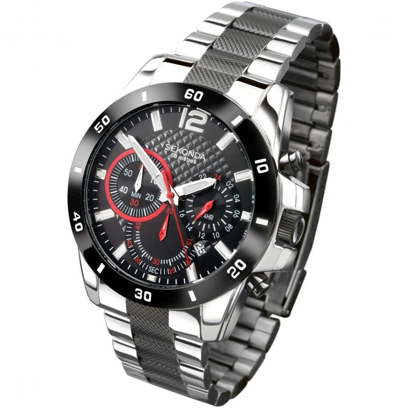Herren Sekonda Endurance Chronograph Watch 3420