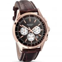 Mens Sekonda Midnight Chronograph Watch