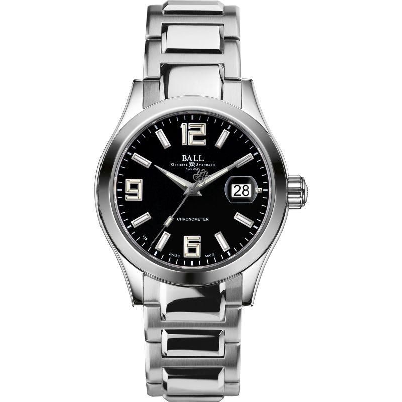 Mens Ball Engineer II Pioneer Chronometer Automatic Watch