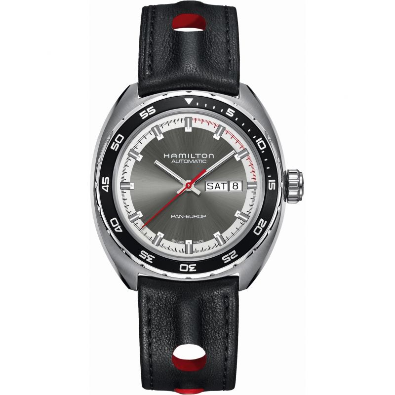Mens Hamilton Pan Europ Automatic Watch