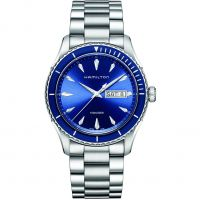 homme Hamilton Jazzmaster Seaview 42mm Watch H37551141