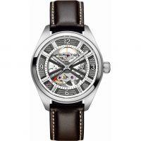 homme Hamilton Khaki Skeleton Watch H72515585