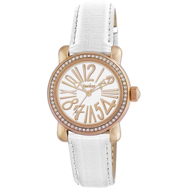 Ladies Pocket-Watch Rond Crystal Petite Watch