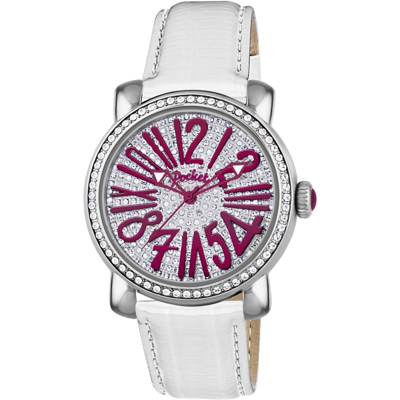 Ladies Pocket-Watch Rond Pave Medio Watch