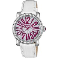femme Pocket-Watch Rond Pave Medio Watch PK2028