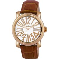 Pocket-Watch Rond Grande Herrklocka Brun PK3000
